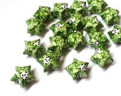 Origami Lucky Stars - Cute Pandas in a Bamboo forest  (custom orders available)