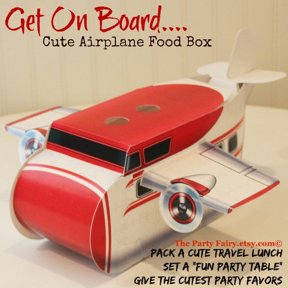 Kids Party Boxes And Food Trays