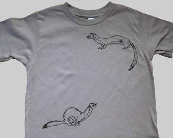 Weasel Organic Kids T Shirt