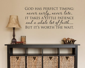 christian wall decal etsy. Black Bedroom Furniture Sets. Home Design Ideas