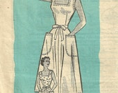 Vintage 50s Mail Order Sewing Pattern Marian Martin 9137 // Dress Size 18 Bust 36