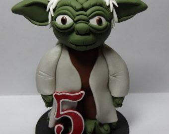 Yoda Cake Topper