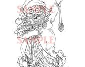 Holiday Opera  Digi Stamp