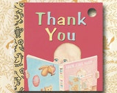 Favor Tag: Thank You Tag for Little Golden Book Baby Shower