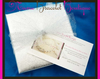 Gift Wrapping for Bridal Flip Flops Jewelry Order