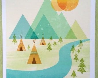 Native Lands Print