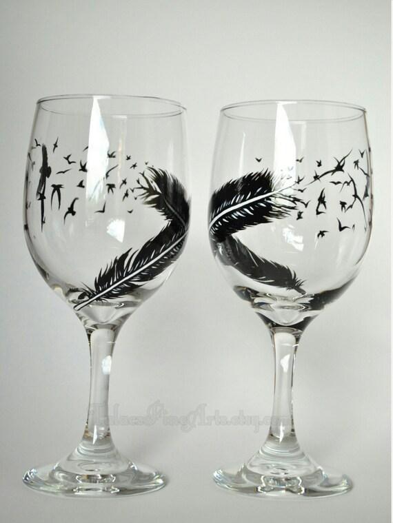 Raven Wine Glasses