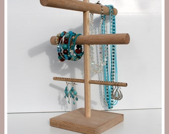 Necklace Holder, Jewelry Organizer, Necklace Stand, Necklace Rack, Necklace Storage, Jewelry Keeper, Jewelery Organizer, Jewellery Holder