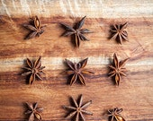Star Anise Kitchen Large Print - Home Decor - Food Photography- Rustic Decor - Natural Tones - Stars - Cooking Spice - Food Art - Browns