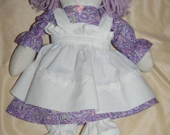 "Raggedy Ann in Lavender 15"""