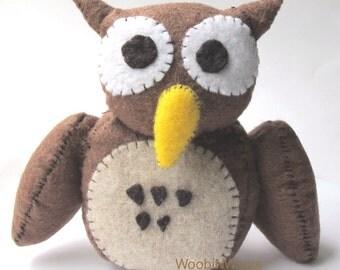 Hoot the Owl- Felt Animal