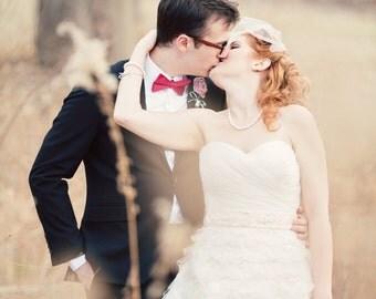 Retro Style Short Wedding Dress - Sherry Darling