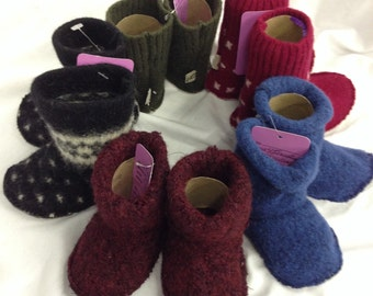 Warm & Wooly Baby Slippers