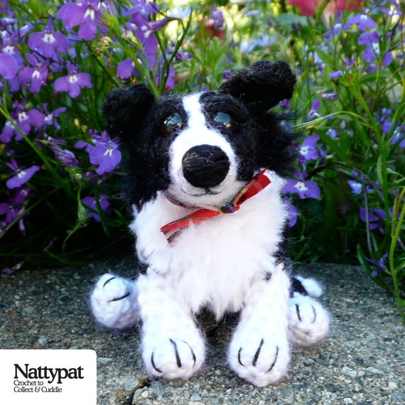 Knitting Pattern For Border Collie : Abbey the Collie Crochet Pattern