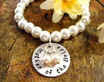 Mother of the Bride Bracelet, MOB Jewelry, Mother of the Bride Jewelry