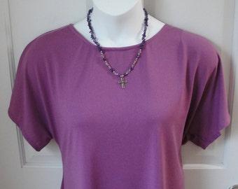XS-3X Post Surgery Shirt - Shoulder, Breast Cancer, Mastectomy / Adaptive Clothing / Hospice / Rehab / Breastfeeding - Style Tracie Wickaway