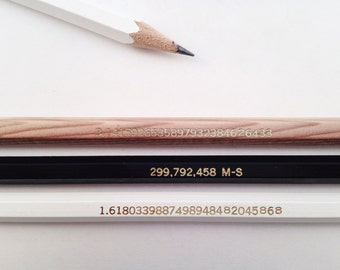The Numbers Pencil Set