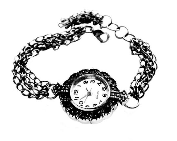 Get 15% OFF - Gift Under 35 - Handmade Lady Fashion Victorians-style Quartz Bracelet Watch - Valentine's Day SALE