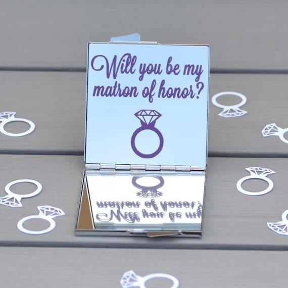 Will You Be My Matron Of Honor Matron Of Honor By
