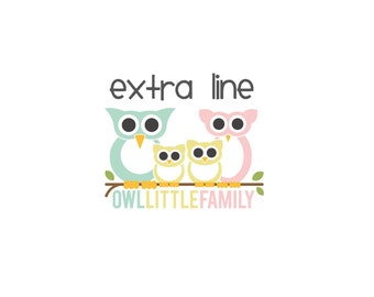 Extra Line ADD ON to Your Order