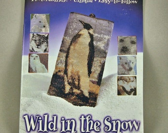 Wild in The Snow, Bead work book by Dawn Dalto