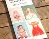 Folk calendar 2014, Matryoshka art by Dina Argov