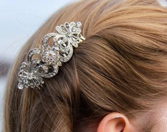 Bridal Hair Clip- Crystal Hair Comb
