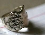 Seafood Fork Ring- Charter Oak