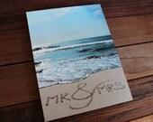 CANVAS Mr&Mrs Sand Writing