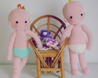Baby Doll Crochet pattern amigurumi PDF - Instant Download