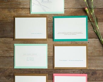 Stationery & Greeting Cards - Set of 6