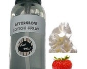 Afterglow™ Lotion Spray - Strawberries & Cream Natural Vegan Skin Care Scented Body Moisturizer Paraben Free w/ Aloe by Eat Me