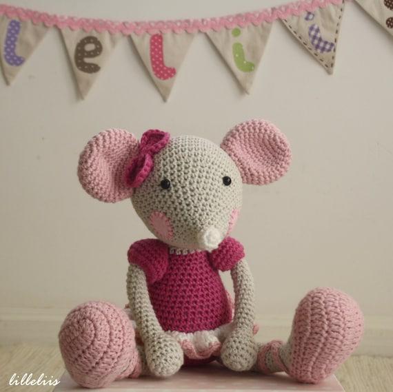 Free Amigurumi Mouse Pattern : Pattern ballerina mouse crochet amigurumi