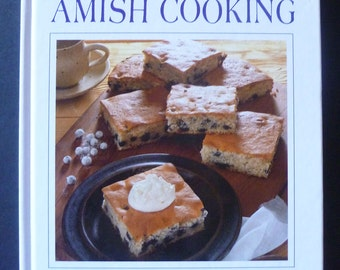 Amish Cooking recipes cookbook photographs gift book