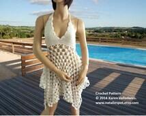 INSTANT DOWNLOAD Dress or Top   - Summer Crochet Pattern