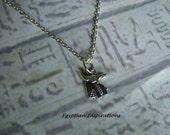 Egyptian Anubis necklace. Egyptian jewelry.