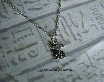 Egyptian Anubis necklace. Egyptian jewelry.