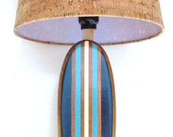 Surfboard Lamp Available In 1000's of Custom Colors