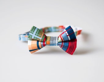 Baby Bow Tie - Patchwork - Boys Easter Tie