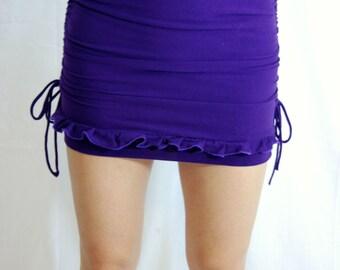 Choose your color: Side synch, Adjustable, Ruffle Skirt, High Waisted Skirt, Mini Skirt, High Waist