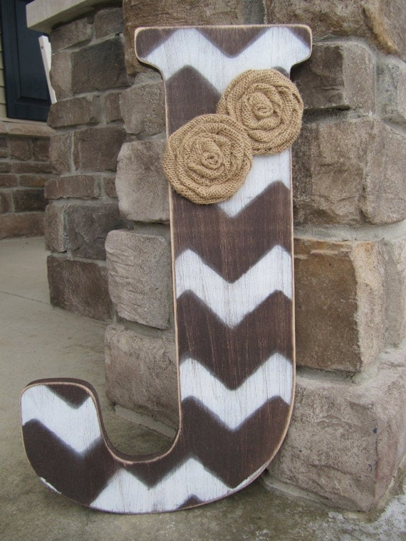18 Inch Chevron Letters Bridesmaids Gifts Wedding Gifts