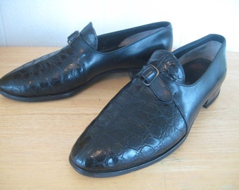 Johnston Mens Alligator Shoes