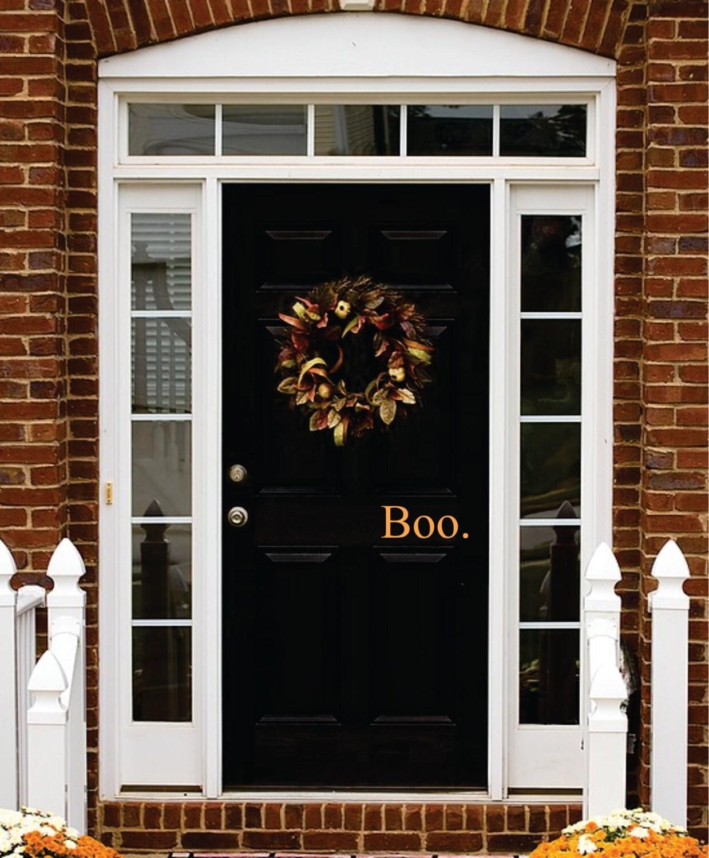 Halloween Decal Boo Door Decal Halloween by JustTheFrosting ~ 013644_Halloween Garage Door Decals