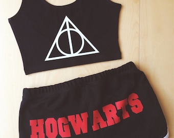HOGWARTS Shorts - Made in USA - Inspired by Harry Potter