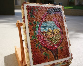popular items for painting on cork on etsy