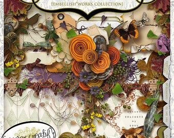 Autumn Breeze by Papier Creatif - Cool Fall Digital Kit