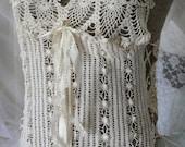 Gypsy Lace crochet vintage lace boho mori girl