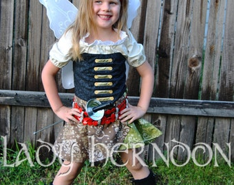 My Pixie Hollow: Zarina the Pirate Fairy Costume - Sizes 2T, 3T, 4T, 5, 6, 7, 8 and 10
