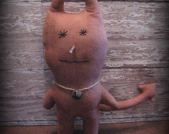 Little Devil Halloween Imp Primitive Doll