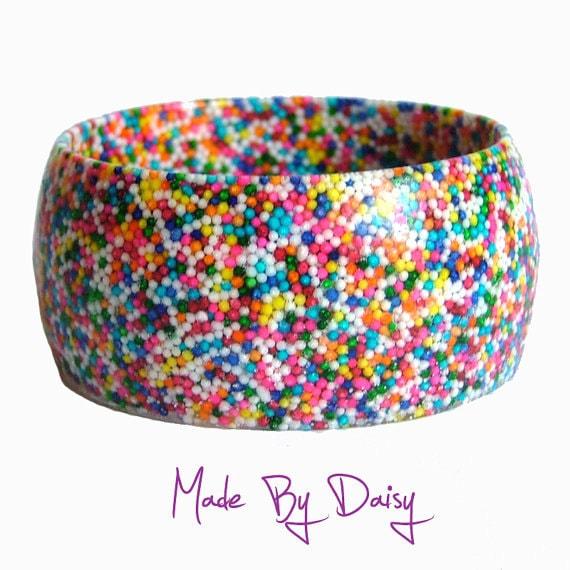 Rainbow Candy Sprinkles Bracelet